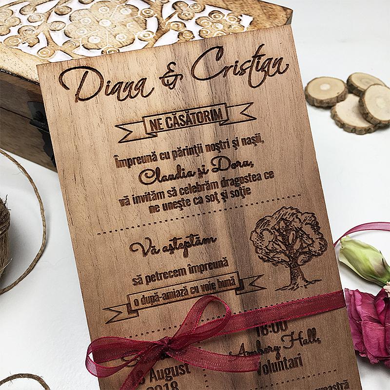 Invitaţie de nuntă Garden (5)
