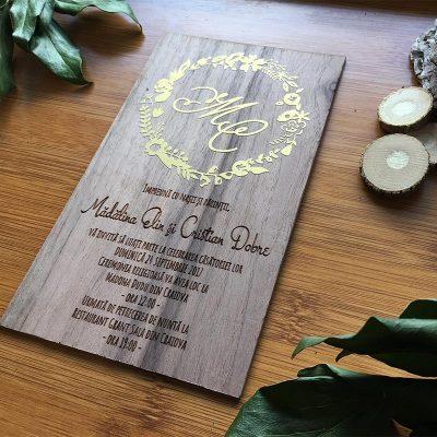 Invitatie-de-lemn-Gold-foil-4
