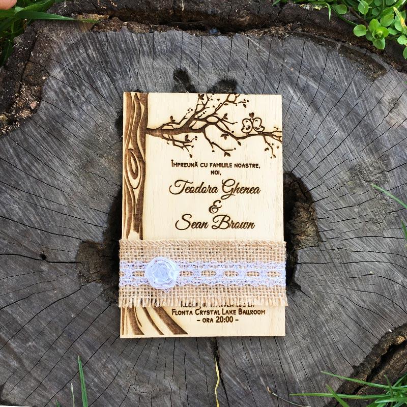 invitatie-gravata-pe-lemn-copacul-iubirii